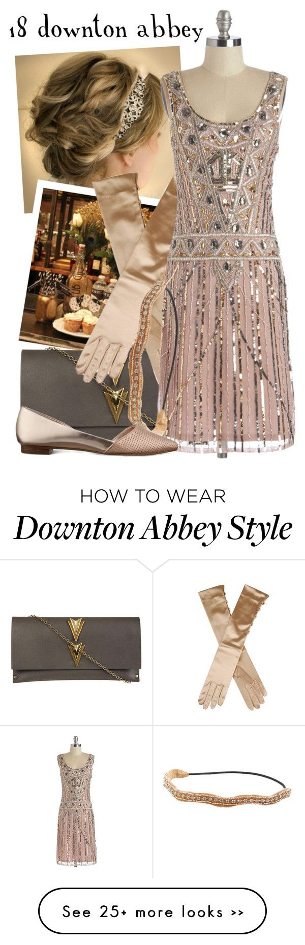"""18 Downton Abbey -- DMA Challenge"" by evil-laugh on Polyvore"