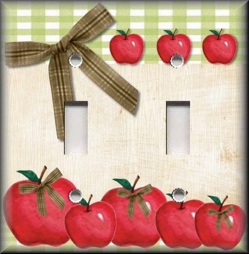88 best images about apple decoration on pinterest for Apple themed kitchen ideas