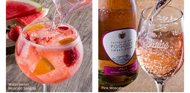 Watermelon moscato sangria pink moscato sweet drinks - Olive garden green apple sangria ...