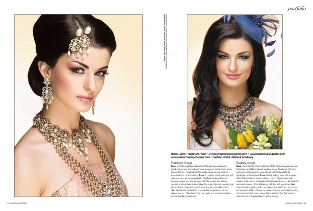 Featured in Asiana Bridal Magazine 2012 #asianbridal #makeup #smokeyeyes #flawlessface #arabicmakeup #mac #kryolan #malikajafrinmua #makeup #jazzybindi #indianjewllery #malikajafrin #malikajafrinmua