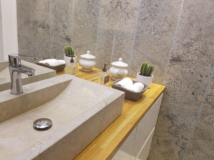 https://flic.kr/p/Kiv8jf | luxury bathroom with grey limestone coral type | www.resido.ro www.gray-limestone.com