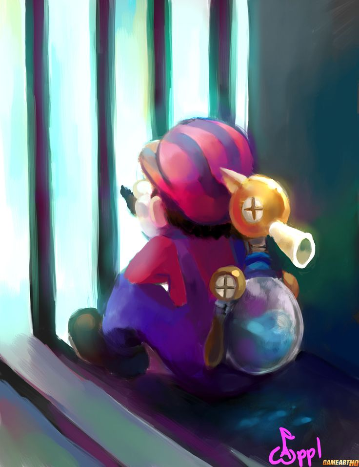 Mario from Super Mario Sunshine by Applfruit