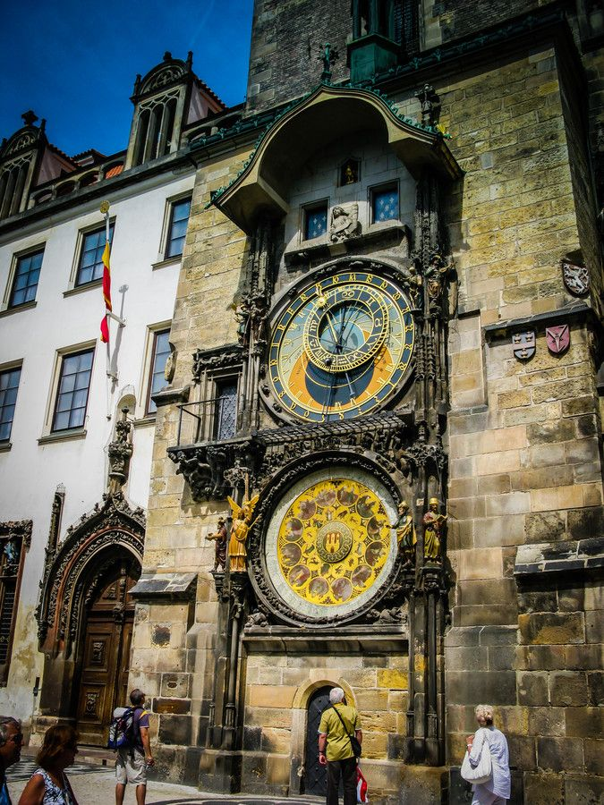 The Prague Astronomical Clock by Alistair Ford on 500px