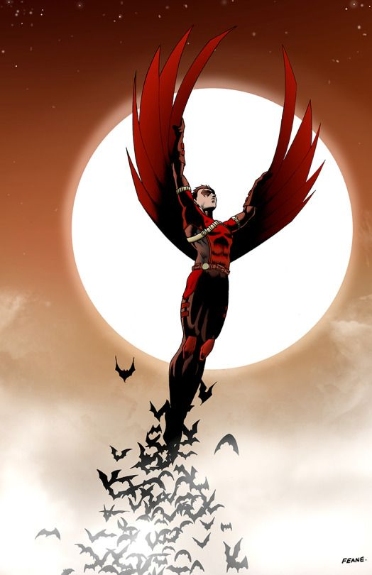 Red Robin Cover by Stephan Feane