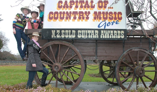 Gore, New Zealand's capital of country music