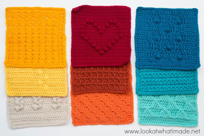 Week 9 of the Last Dance on the Beach CAL 2016 is a simple cable stitch square with an easy 1-row repeat.