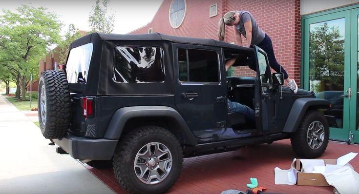 Poser le toit souple sur une Jeep Wrangler…. Facile! > VUSmag