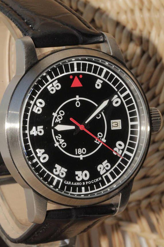 POLJOT. Russian watch. Mechanical watch. Mens Watch.poljot