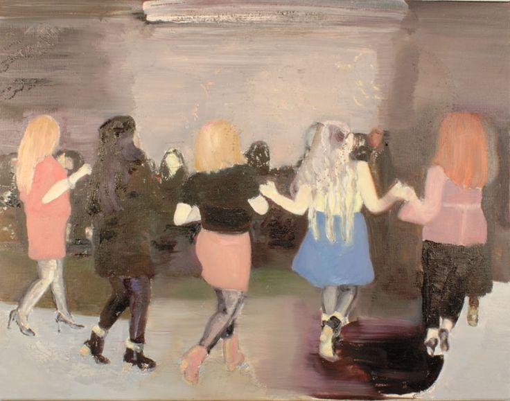 Marli Turion, Dansmeisjes, 2013 oil/ on canvas 70 x 90cm