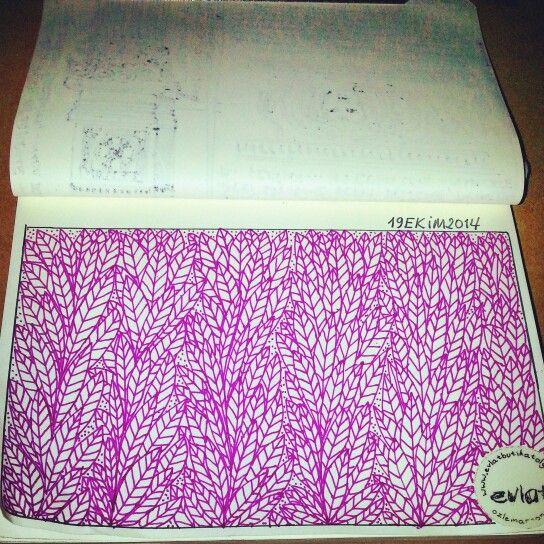 Ozlemarsoner / Evlat zengtangle, zengtangles, doodle, doodles, sketchbook