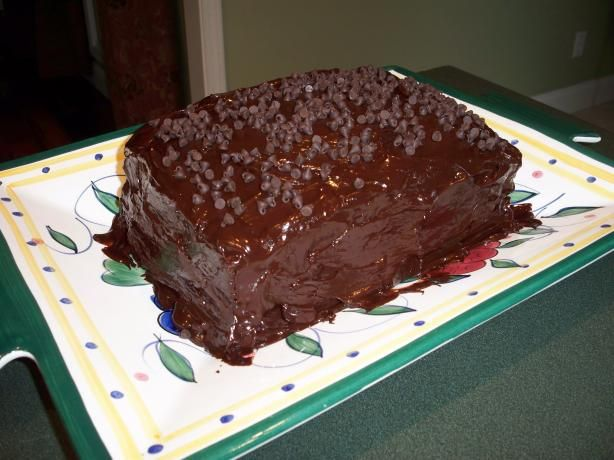 Great Wall Of Chocolate Cake