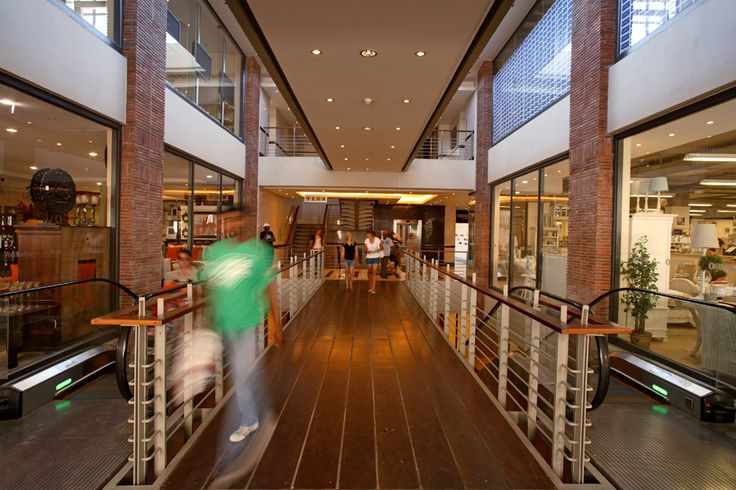 Mall circulation.