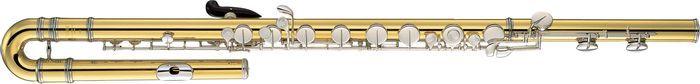 Woodwind Instruments - carosta.com - Yamaha YFL-B441II Professional Bass Flute