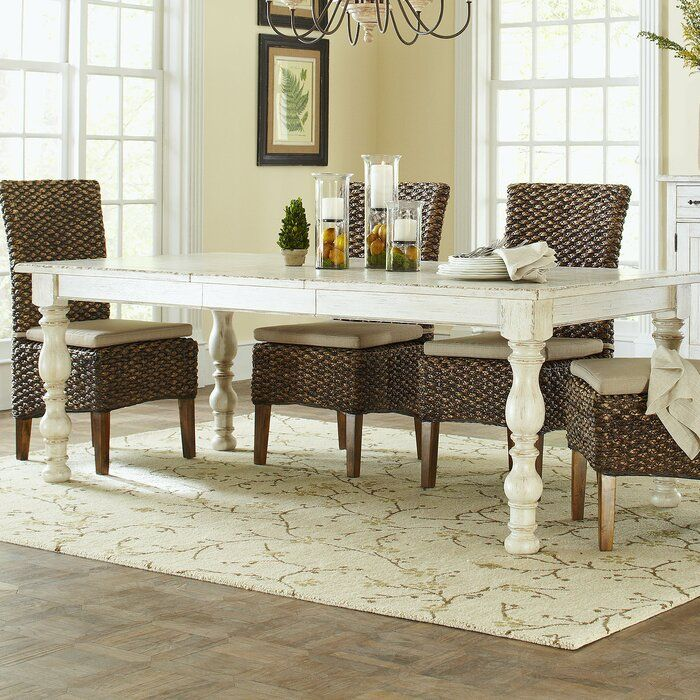Feminine French Country Extendable Dining Table Reviews Wayfair In 2020 Extendable Dining Table Dining Table In Kitchen Wood Dining Table