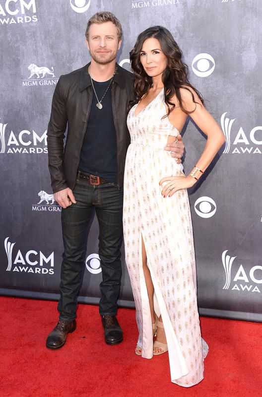 Dierks Bentley and Cathy Bentley at 2014 ACM Awards