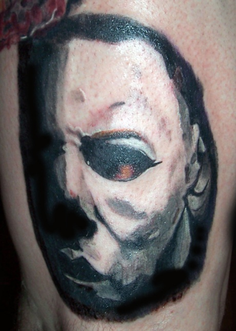 16 best my portrait and realism tattoos images on for Michael myers tattoo