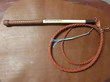 Stock whip, 5' redhide 'Will Dargan whips', stockwhip