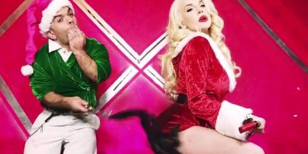 La vidéo de Noël sexy et déjantée de Courtney Stodden ! (VIDEO)