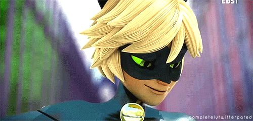 miraculous+ladybug+chat+noir+gif | ... guide you home | Miraculous Ladybug (Episode 1) >> Favorite Chat
