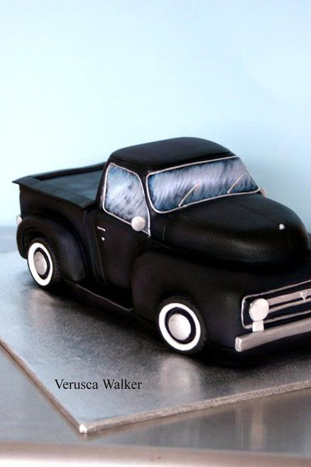 F100 3D car  Cake by Verusca Walker