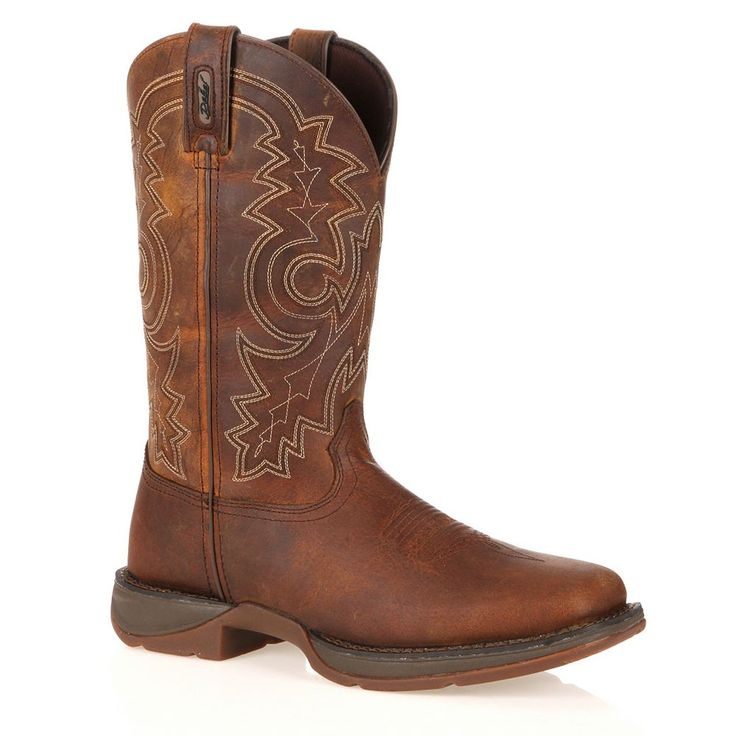 Durango Rebel Men's 11-in. Steel-Toe Western Boots, Size: medium (11.5), Brown