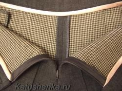 Как пришить пояс к юбке или брюкам