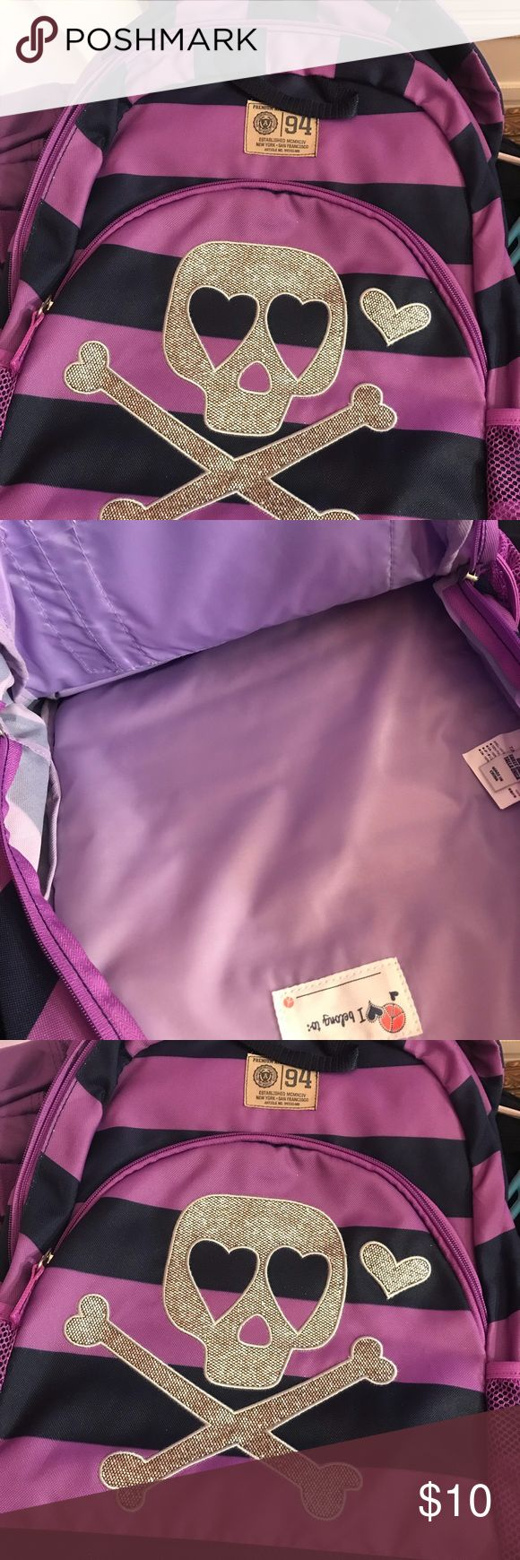 Old Navy Purple Backpack New Backpack with Tags Old Navy Accessories Bags