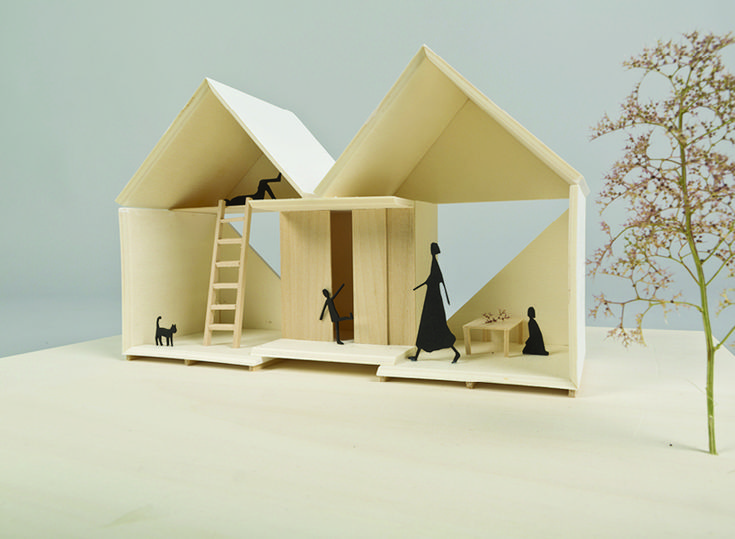 luna perschl rethinks earthquake recovery shelter with pocket house