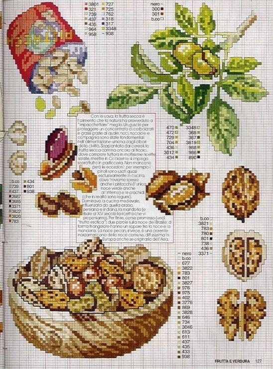 Gallery.ru / Фото #83 - EnciclopEdia Italiana Frutas e verduras - natalytretyak