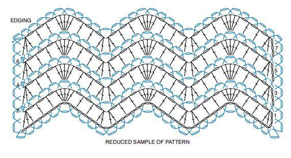 Colcha de Crochê Inspiração Colorida Ziguezague - / Crocheted with Quilt Inspiration Colorful Zigzag -