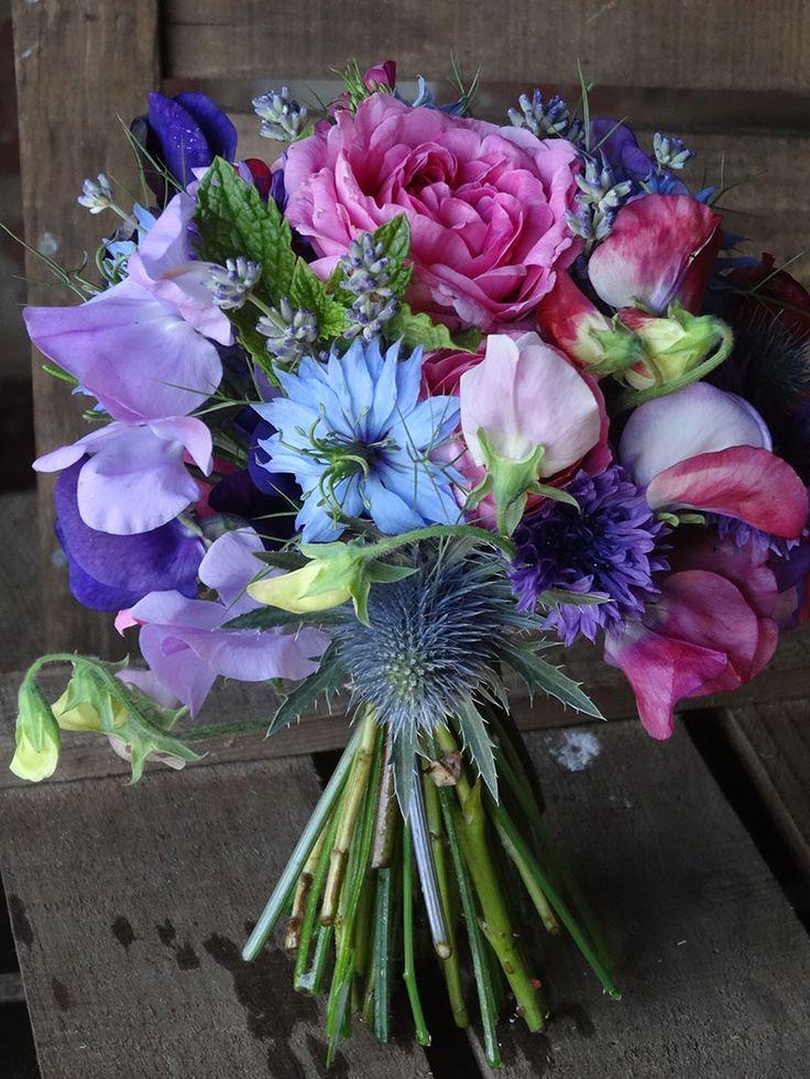 Seasonal home grown June wedding bouquet by Catkin Flowers for #BritishFlowersWeek http://www.greenunion.co.uk/news/611/its+british+flowers+week