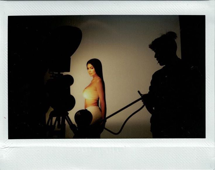 """""""See my exclusive polaroids: Kylie Cosmetics x KKW"""" - thekyliejenner.com"""