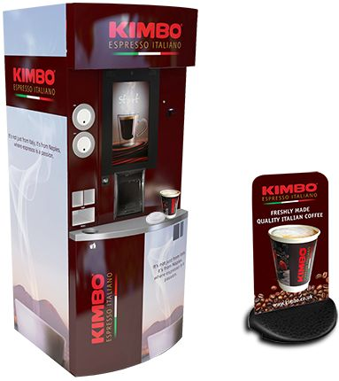 Our bespoke coffee towers have everything you need to offer the ultimate consumer beverage experience. Clients have the option to create their own brand and add a personal touch without compromising quality or from a choice of our major brand partners such as Kimbo and Nestle. The 21.5 inch HD touch-screen has large easy to use menu icons, once you make your selection you can personalize your beverage to just the way you like it.