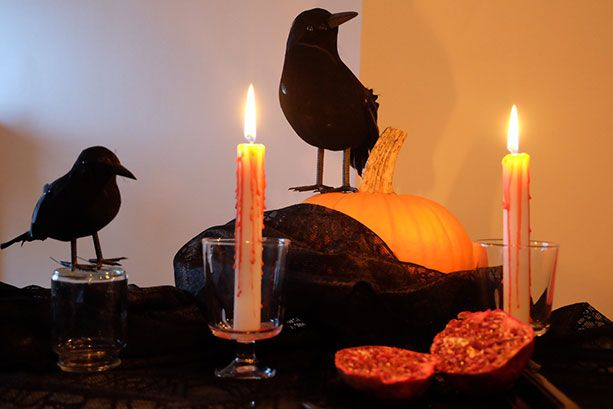 DIY: Comment faire une décoration de table d'Halloween au magasin du dollar | Décormag