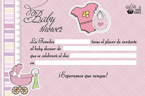 Invitaciones De Baby Shower Para Editar Invitacion Para Ba