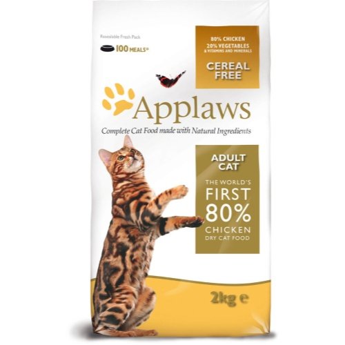 £27.74, Applaws Adult Chicken Dry Cat Food, 7.5kg