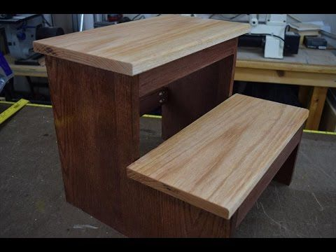 How To Make A Step Stool With Pocket Hole Joinery In 2019