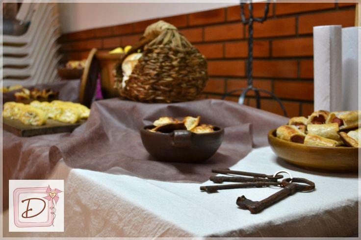 ambientación medieval #fiesta #cumpleaños #festejo #decoración #ambientación #tematización#cocina