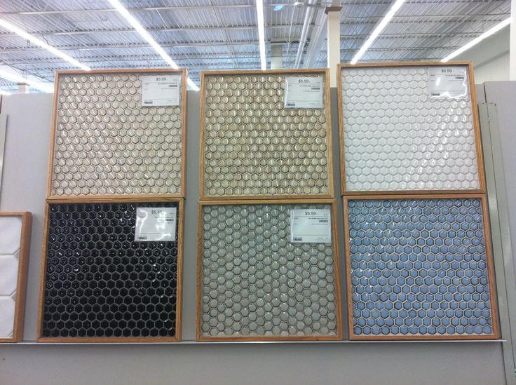 Blue Or Green Honeycomb Tile Backsplash Maybe For Another Area Other Than The Kitchen