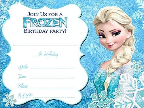 16 best immagini frozen images on pinterest birthday party ideas party frozen birthday party invitations as an alternative for your fair party invitations 13 voltagebd Choice Image