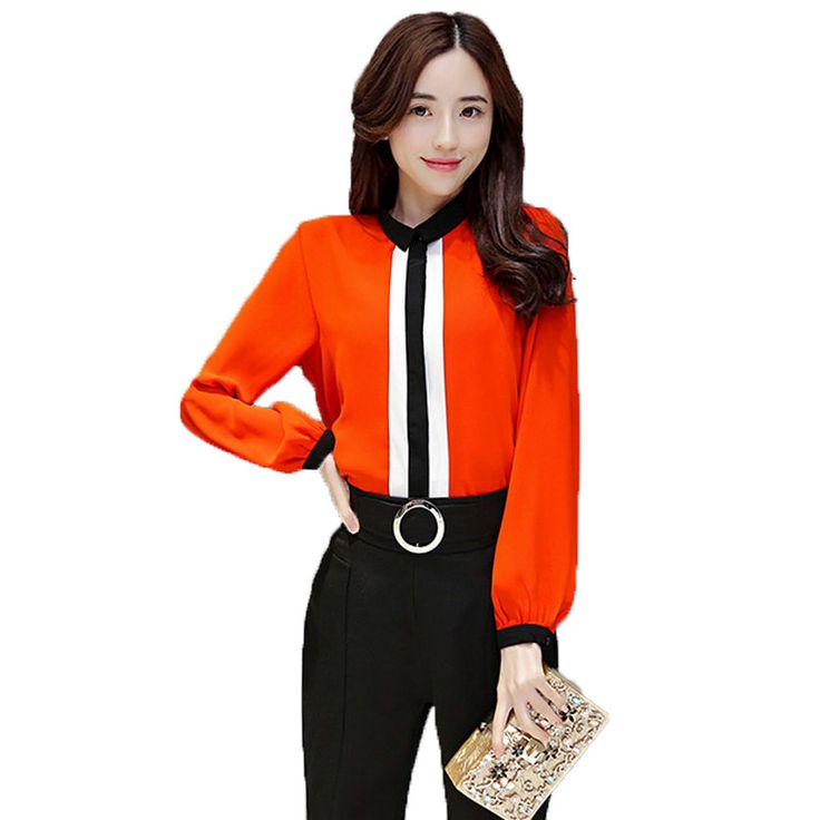 2017 Spring Woman Shirt And Pant Suit Set Two Piece Trouser sets Silk Blouse and Bottom Twinset Lady Office Oufits Business Suit  #style #love #fashion #iwant #instastyle #swag #glam #beauty #beautiful #ootd
