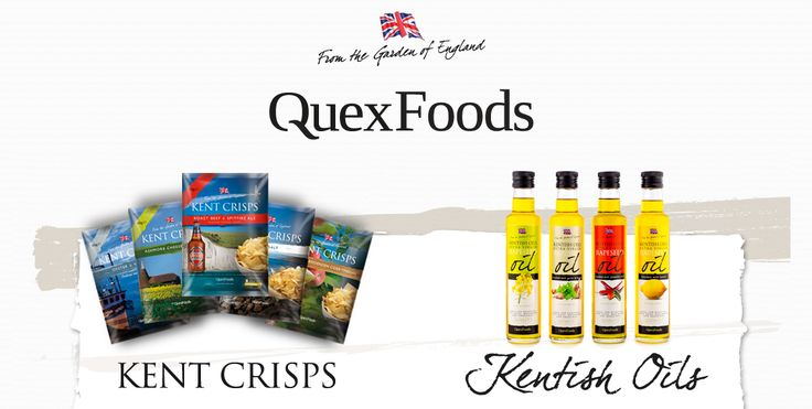 Kentish Rapeseed Oil & Kent Crisps –   12th April – QUEX FOODS –10am – 2pm  This Saturday we will have the full selection of oils and crisps for our customers to try in our main store and a smaller selection of tasters in our West Street store. The café will also be offering a selection of the crisps for sale on Saturday.