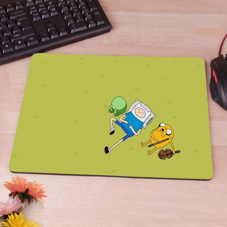 Adventure Time Pokemon anti slip mousepad mouse pad pc game gaming