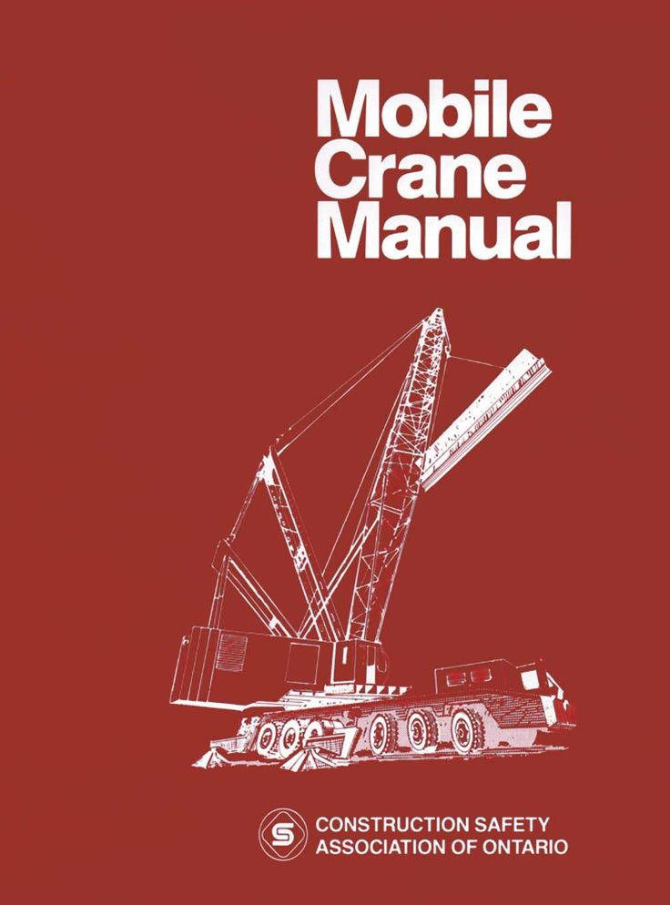 Best Crane  Rigging Books Images On   Crane