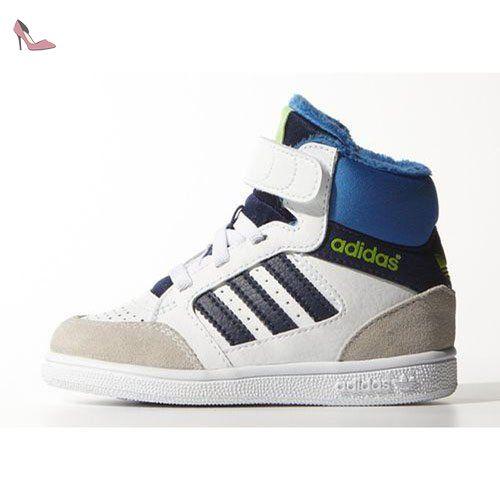 adidas Performance Enfants, Baskets Pour Ados - Blanc/Bleu, 24 EU - Chaussures adidas (*Partner-Link)
