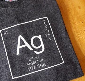 Silver Design Screen Print: T Shirt, Shirts, Screens, Silver Design