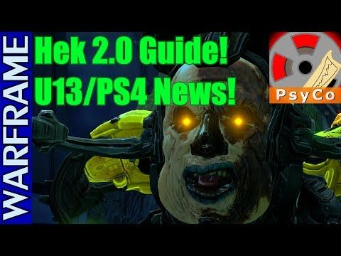 Warframe - Update 13 Patches, PS4 Update, and the new Vay Hek Boss Guide! [1080HD] - http://freetoplaymmorpgs.com/warframe/warframe-update-13-patches-ps4-update-and-the-new-vay-hek-boss-guide-1080hd