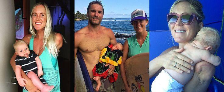 19 Sweet Photos of Bethany Hamilton's Beach Baby, Tobias
