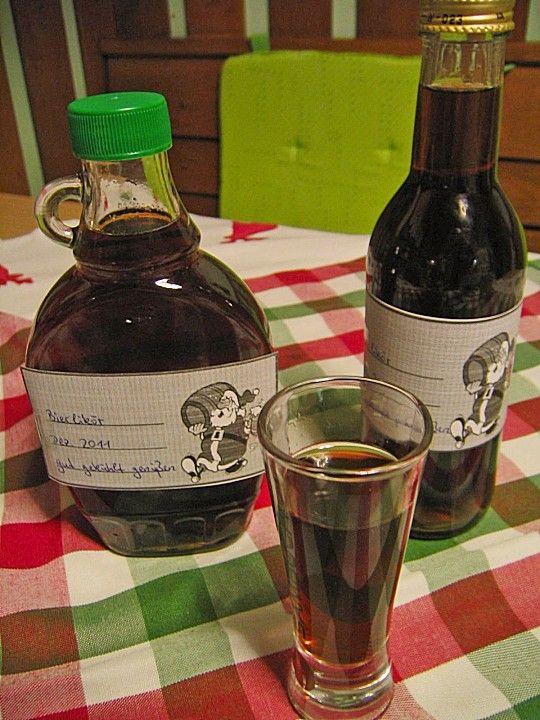 Bierlikör - sofort trinkfertig, ein beliebtes Rezept aus der Kategorie Likör. Bewertungen: 49. Durchschnitt: Ø 4,3.