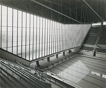 Melbourne 1956 olympic pool glass house architecture pinterest best 1956 olympics for Melbourne university swimming pool
